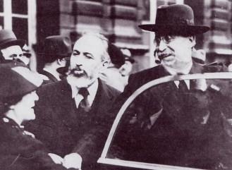 Marx Dormoy, ministre de l'Intérieur, avec Léon Blum