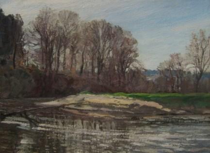 Florane: Paysage à la rivière