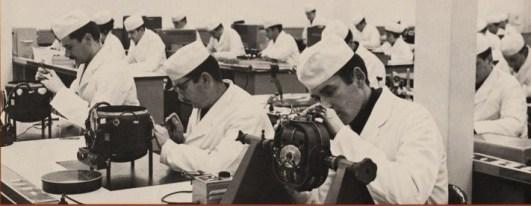 ◘ L'atelier de fabrication des centrales de cap